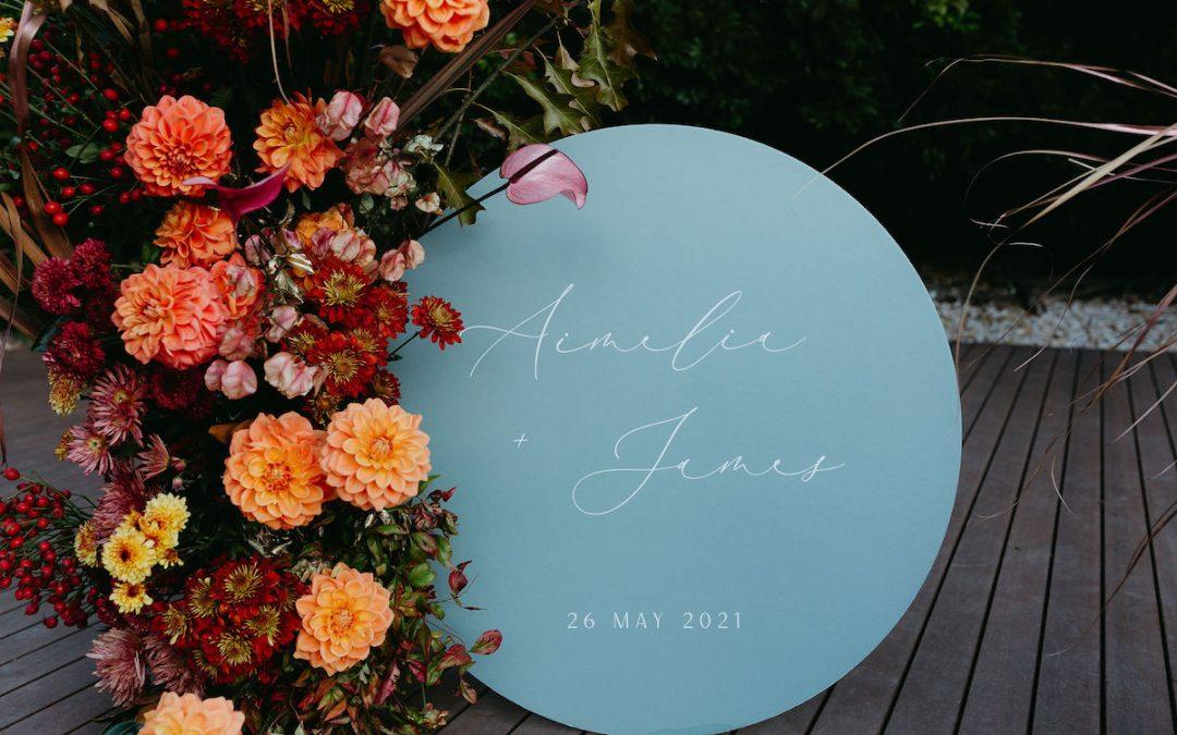 Vibrant Spring Wedding Vibes
